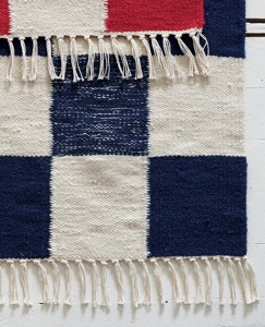 Wool Nordic Tile Rug by Hanna Andersson