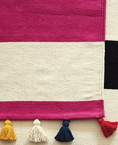 Stripe Happy Rug by Hanna Andersson