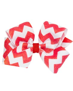 Sparkle Chevron Bow