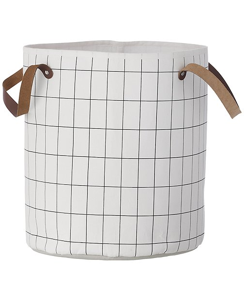 Organic Cotton Grid Basket by Hanna Andersson