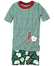 Short John Pajamas In Organic Cotton by Hanna Andersson