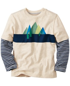 Double Sleeve Art Tee by Hanna Andersson
