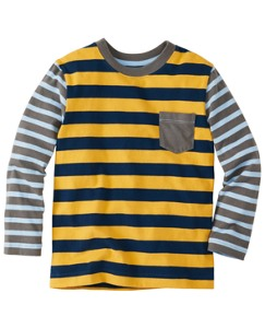 Mix a Lot Stripe Tee by Hanna Andersson
