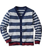 Mixed Stripe Cardigan by Hanna Andersson