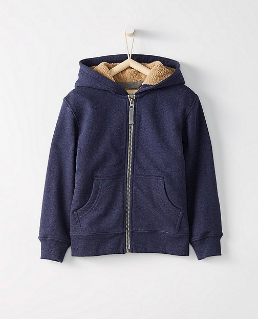 Boys Supercozy Fleece Lined Hoodie by Hanna Andersson
