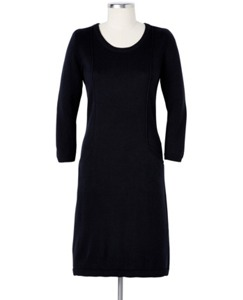 Solstice Sweater Dress In Cotton Cashmere by Hanna Andersson
