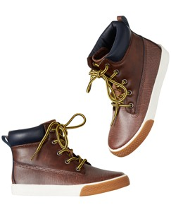Sune Leather Logger Boot By Hanna