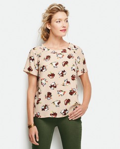Flowy Floral Top by Hanna Andersson