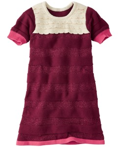 Just Add Ruffles Sweater Dress by Hanna Andersson