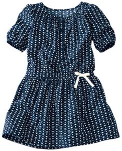 Pretty Poplin Henley Dress by Hanna Andersson