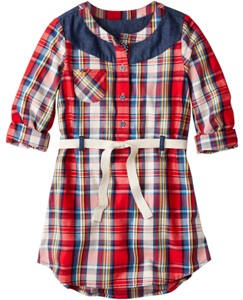 Plaid Shirtdress by Hanna Andersson