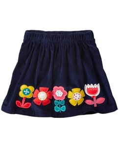 Folklore Appliqué Skirt by Hanna Andersson