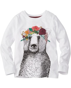 Textured Art Tees by Hanna Andersson