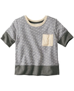 Cozy Sweatshirt Tee by Hanna Andersson