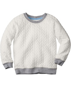 Cableknit Sweatshirt by Hanna Andersson