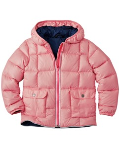 Hanna Andersson Girls Puffer Down Jacket