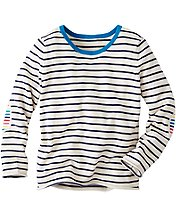Stripe On Stripe Sweater by Hanna Andersson