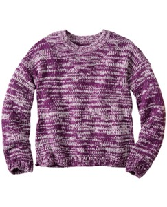 Chunky Marled Crewneck by Hanna Andersson
