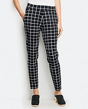 Windowpane Slouchy Pants by Hanna Andersson