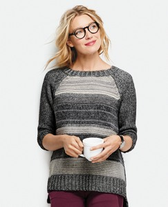 Yarn Mix Pullover by Hanna Andersson