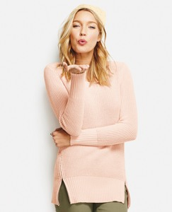 Cotton Cashmere Side Zip by Hanna Andersson