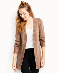 The Long Cardigan In Cotton & Merino by Hanna Andersson