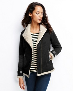 Woolly Moto Jacket by Hanna Andersson