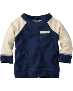 Snuggly French Terry Sweatshirt by Hanna Andersson