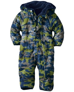 Puffer Snowsuit For Little Ones by Hanna Andersson