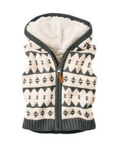 Sherpa Lined Sweater Vest by Hanna Andersson