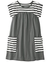 Stripey Pocket Dress by Hanna Andersson