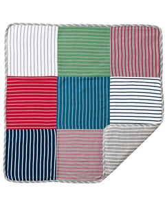 Reversible Patchwork Stroller Blanket by Hanna Andersson