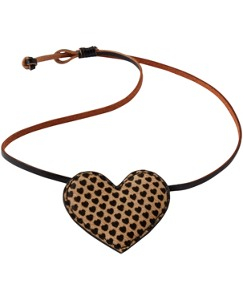 Leather Necklace by Hanna Andersson