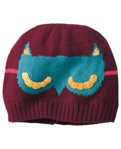 Masked Cotton Beanie by Hanna Andersson