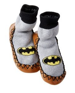Kids DC Comics™ Batman Slipper Moccasins by Hanna Andersson