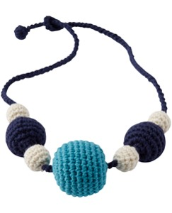 Cotton Crochet Necklace by Hanna Andersson