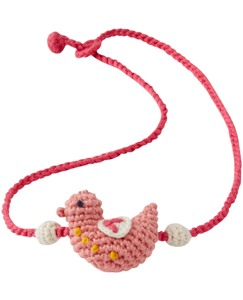 Crochet Critter Necklace by Hanna Andersson
