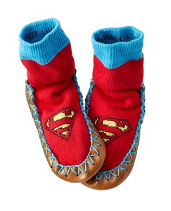 Justice League SUPERMAN™ Kids Slipper Moccasins by Hanna Andersson