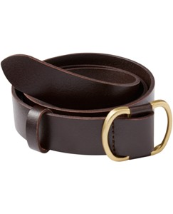 Modern Leather Belt by Hanna Andersson