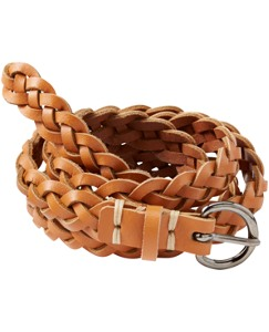 Braided Leather Belt by Hanna Andersson
