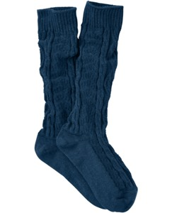 Cable Knee Socks by Hanna Andersson