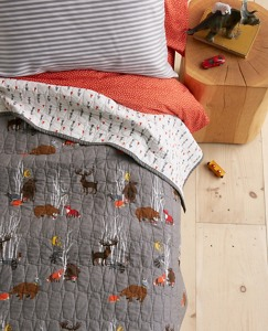 Reversible Woodland Quilt by Hanna Andersson