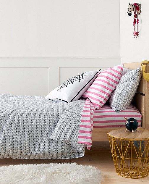 HannaSoft™ X's And O's Duvet Cover by Hanna Andersson