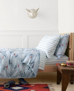 HannaSoft™ Viking Duvet Cover by Hanna Andersson