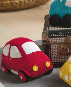 Handknit Car Pillow by Hanna Andersson