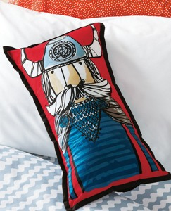 Viking Pillow by Hanna Andersson