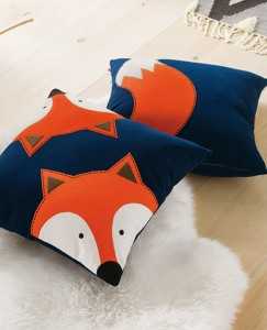 Coming & Going Fox Pillow by Hanna Andersson
