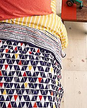 Reversible Triangles Quilt by Hanna Andersson
