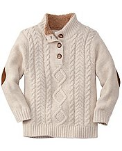 Cableknit Sweater by Hanna Andersson