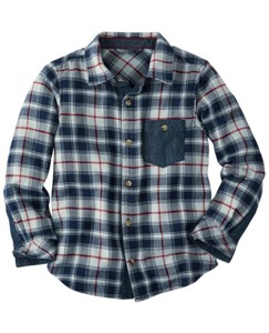 Lappland Flannel Shirt by Hanna Andersson